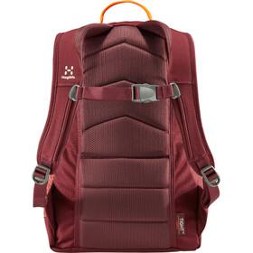 Haglöfs Tight Junior 15 Backpack Kinder aubergine/cayenne
